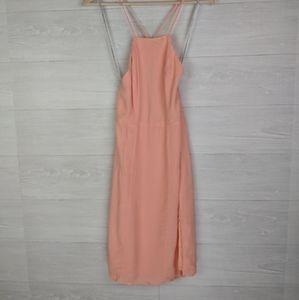 NWT Lovers + Friends Peach Apricot Dress